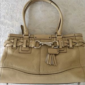 Coach Bags - COACH Authentic Horse & Bit Style  Top Handle Bag